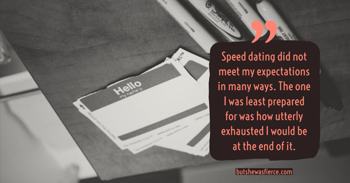 speed dating at tiger tiger newcastle